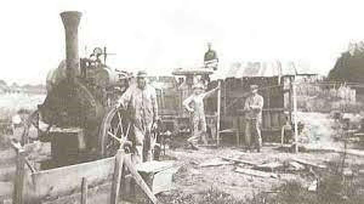 Workers at the Kline Brickyard. (Courtesy photo)