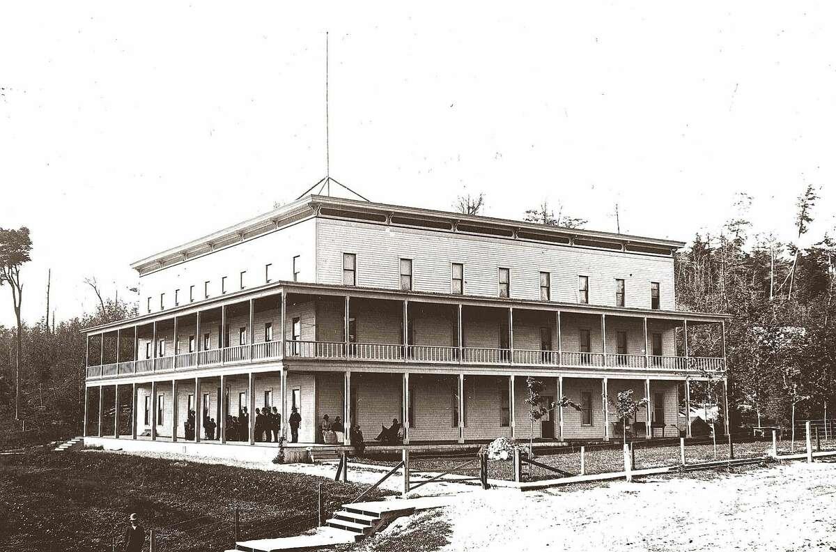Glen House Hotel in 1891