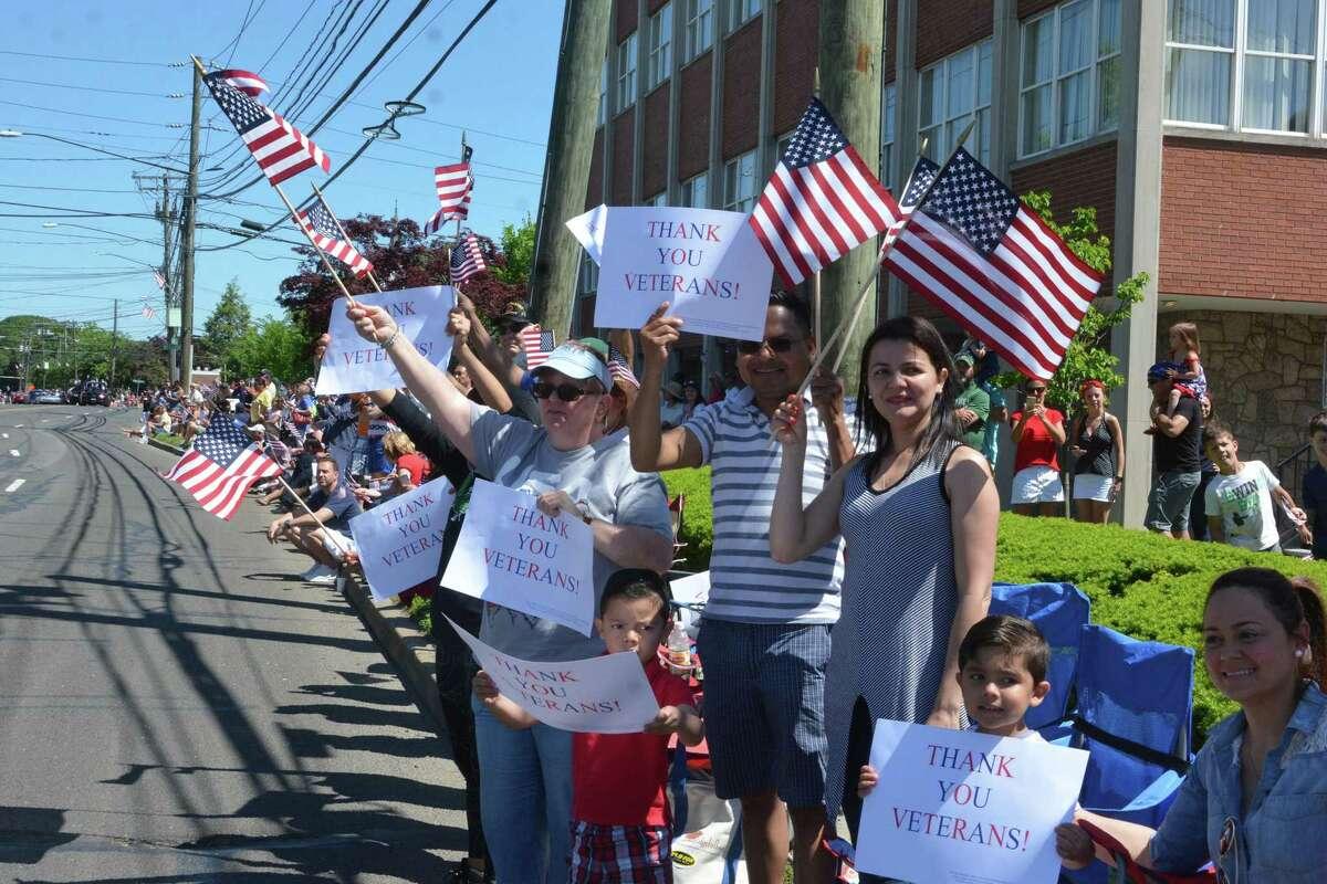 Norwalk's Memorial Day parade in Norwalk, Conn. May 27, 2019.
