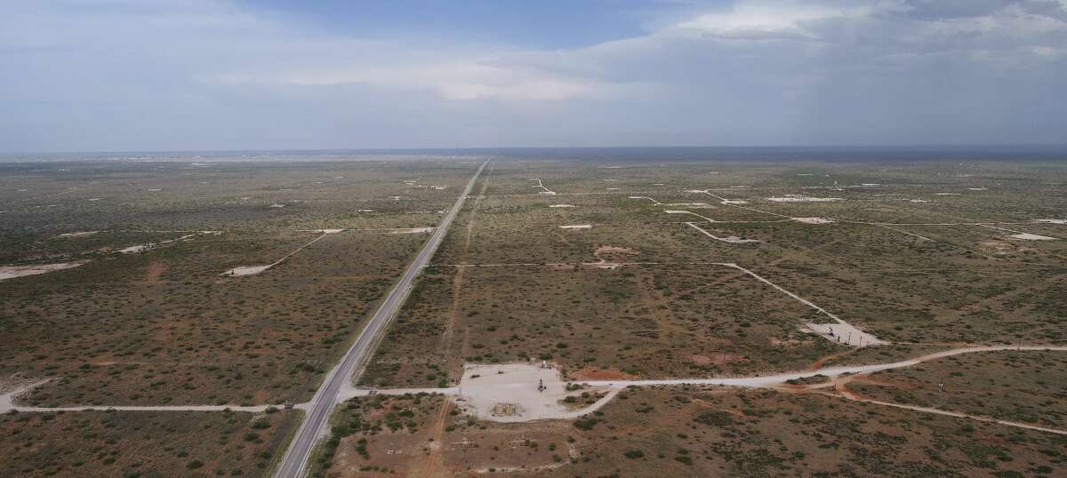 Drilling sites mark the landscape near Eunice, N.M in this 2019 file photo. A ban on oil and gas leasing and drilling permits on federal lands would heavily impact the New Mexico portion of the Permian but would have a widespread impact elsewhere in the country.