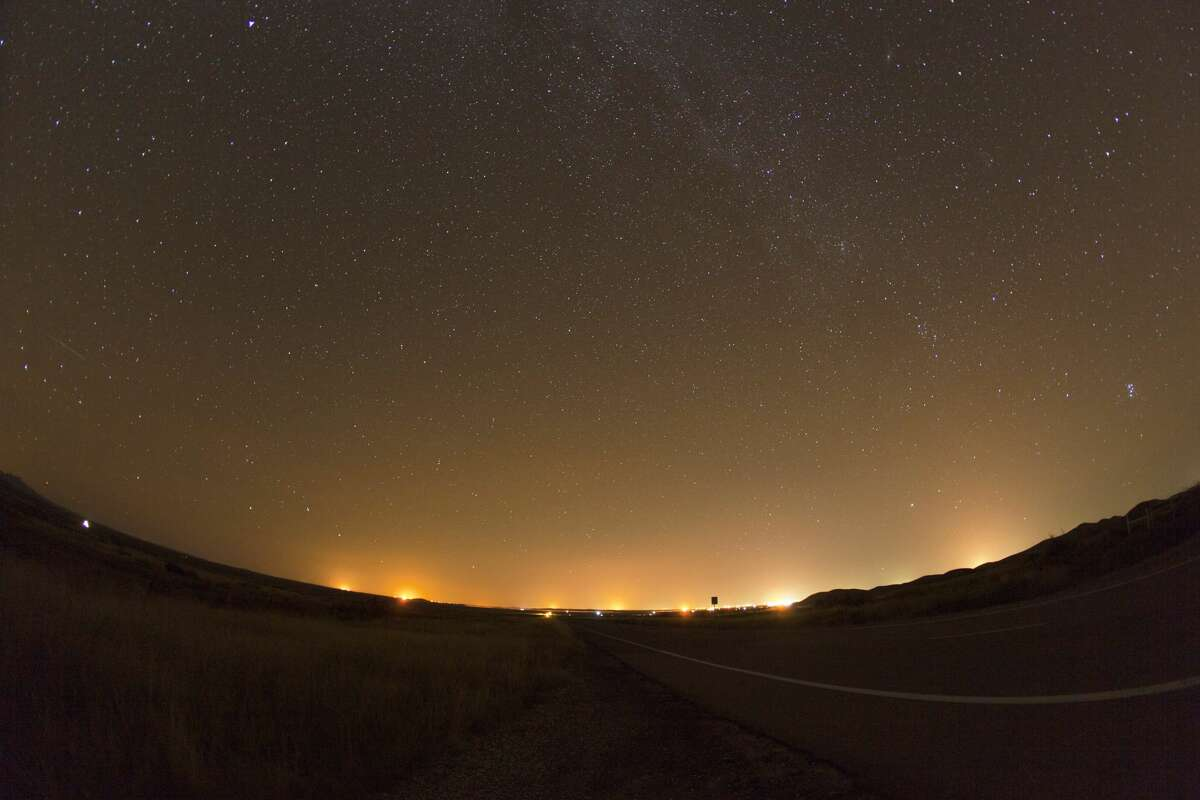 Light pollution is seen in Jeff Davis County in this 2016 file photo. Respect Big Bend Coalition, formed to promote responsible and sustainable energy development in the Big Bend region and Tri-County area of Brewster, Jeff Davis and Presidio counties, has issued its report on energy development in the area.