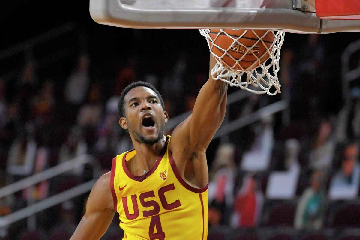 Evan Mobley is among the players being considered by the Rockets at No. 2 in the draft. It's clear the USC center has set a high bar for himself entering the NBA.