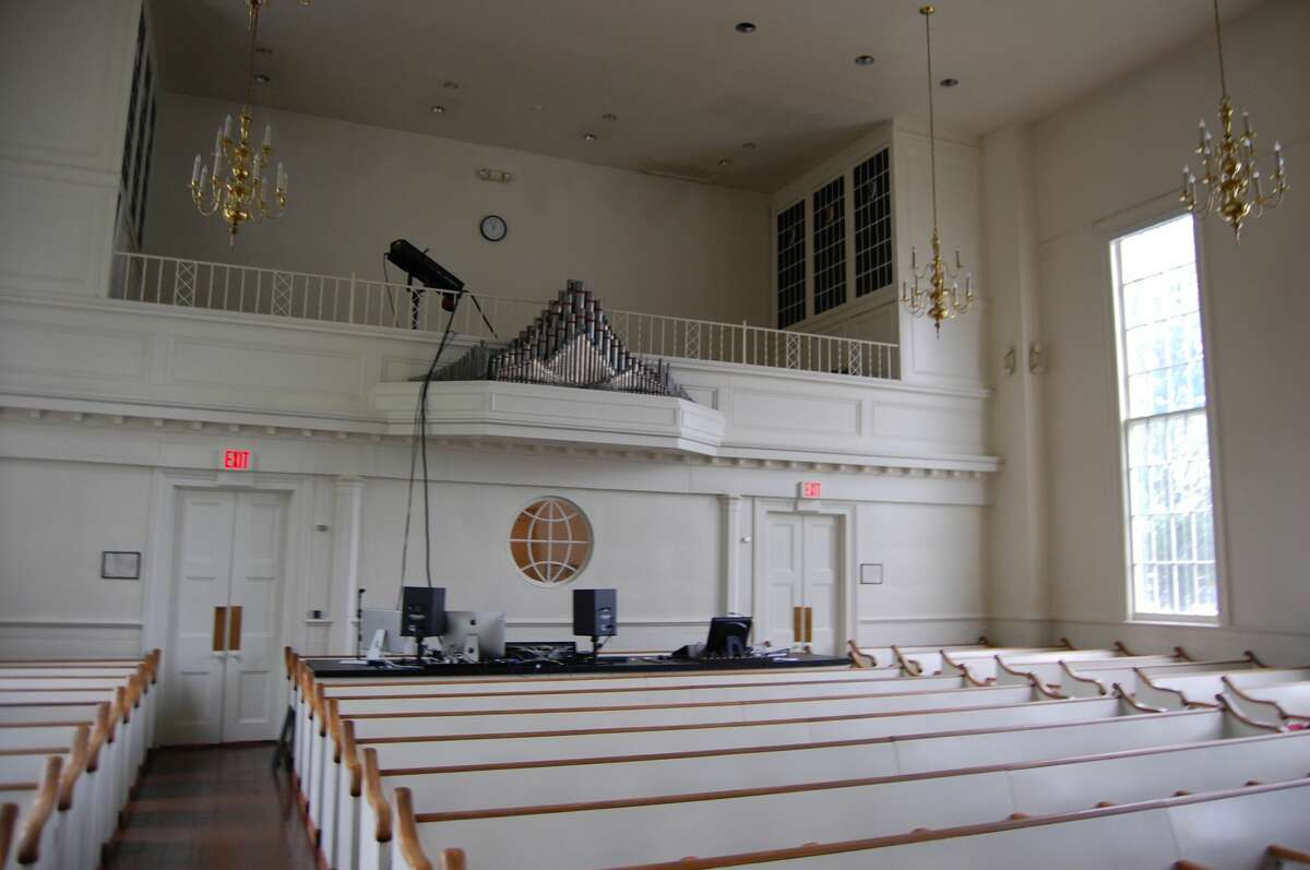 The organ loft was part of a major renovation in 1939. The new organ that came with the loft has since been replaced.