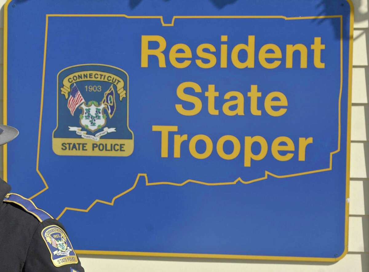 A Darien man is facing weapon, reckless endangerment and breach of peace charges following an altercation at a Sherman residence on Thursday.
