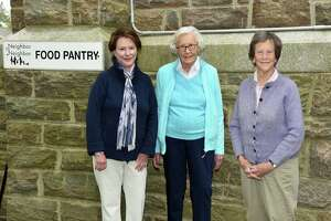 Neighbor to Neighbor is honoring Pam Kelly, Bev Jomo and Mary Cattan in a celebration recognizing residents who helped the Greenwich food pantry reach its level of success.