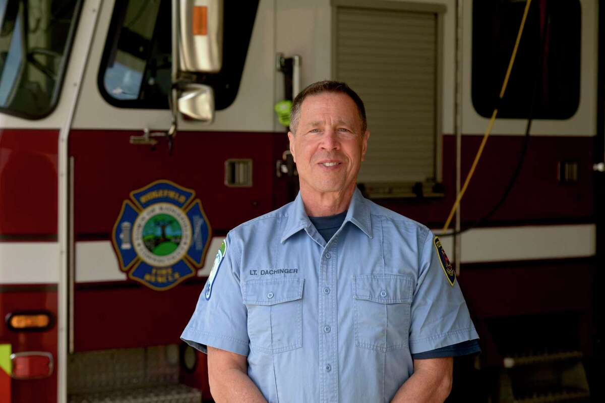 Lt. David Dachinger is retiring from the Ridgefield Fire Department. He joined RFD in 2008 after volunteering with other departments for several years prior and became a lieutenant in 2016.