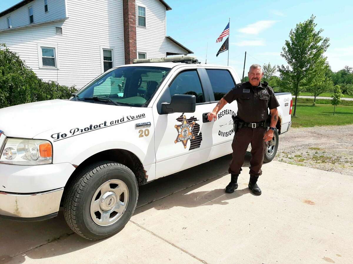 Jim Volant, a Vietnam Army veteran who lives in Gladwin and is a Clare County Sheriff's deputy, marches in every local veteran parade and takes part in many veteran activities. He said he wants veterans to know they are appreciated. (Photo provided)