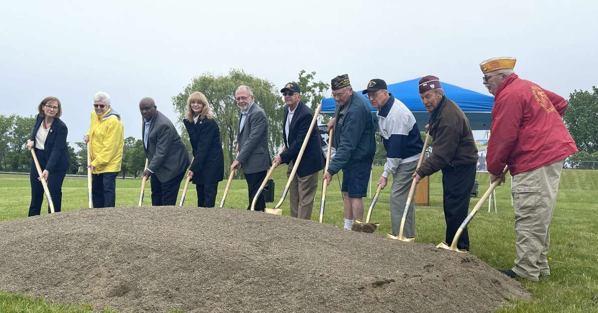 (Schenectady, NY) The Schenectady County Legislature held a groundbreaking event for a new Schenectady County Vietnam Veterans Memorial Park to be located at SUNY Schenectady, between the back parking lot and State Street. The park will include a memorial, a concrete viewing area with granite benches, lighting and a flag pole. A new crosswalk will be added, from the parking lot to the walkway, for pedestrian access to the park.The memorial park will be the first County park to honor Schenectady County residents who served in the military during the Vietnam War. According to the most recent U.S. Census Bureau estimate, over 8,500 veterans call Schenectady County home. The Schenectady County Legislature held a groundbreaking event Friday for a new Schenectady County Vietnam Veterans Memorial Park to be located at SUNY Schenectady, between the back parking lot and State Street. The park will include a memorial, a concrete viewing area with granite benches, lighting and a flag pole. A new crosswalk will be added, from the parking lot to the walkway, for pedestrian access to the park.The memorial park will be the first County park to honor Schenectady County residents who served in the military during the Vietnam War. According to the most recent U.S. Census Bureau estimate, over 8,500 veterans call Schenectady County home.