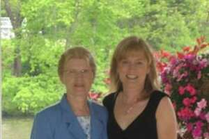 Christine DiLeone of South Windsor, right, with her mother, Irene Vandenberg, in 2008.