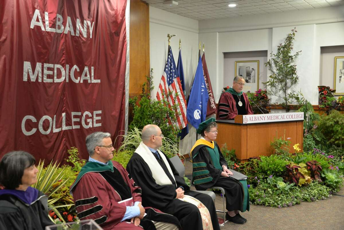 Albany Medical College awarded 222 degrees Thursday during a virtual commencement ceremony.