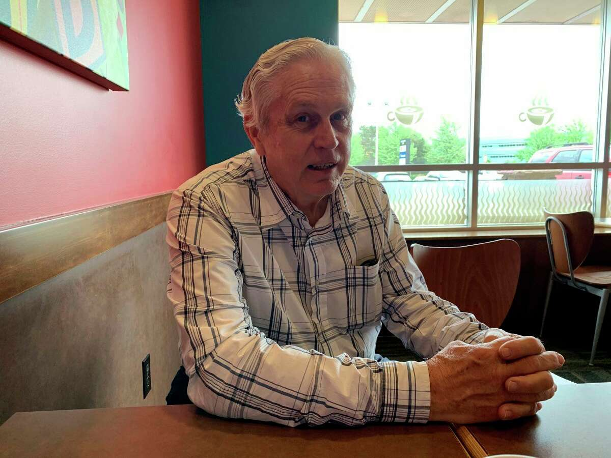 Mecosta County Development Corporationdirector Jim Sandy is retiring after nine years with the organization. During the last year he has assisted local small business owners navigate the COVID-19 pandemic and find financial assistance. (Pioneer photo/Cathie Crew)