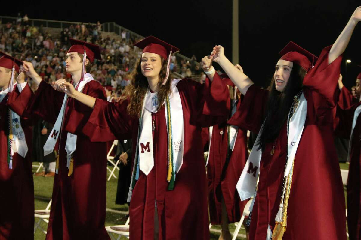 Magnolia High experienced graduation on campus for the first time in many years in their football stadium Thursday evening, June 3, to celebrate its Class of 2021.