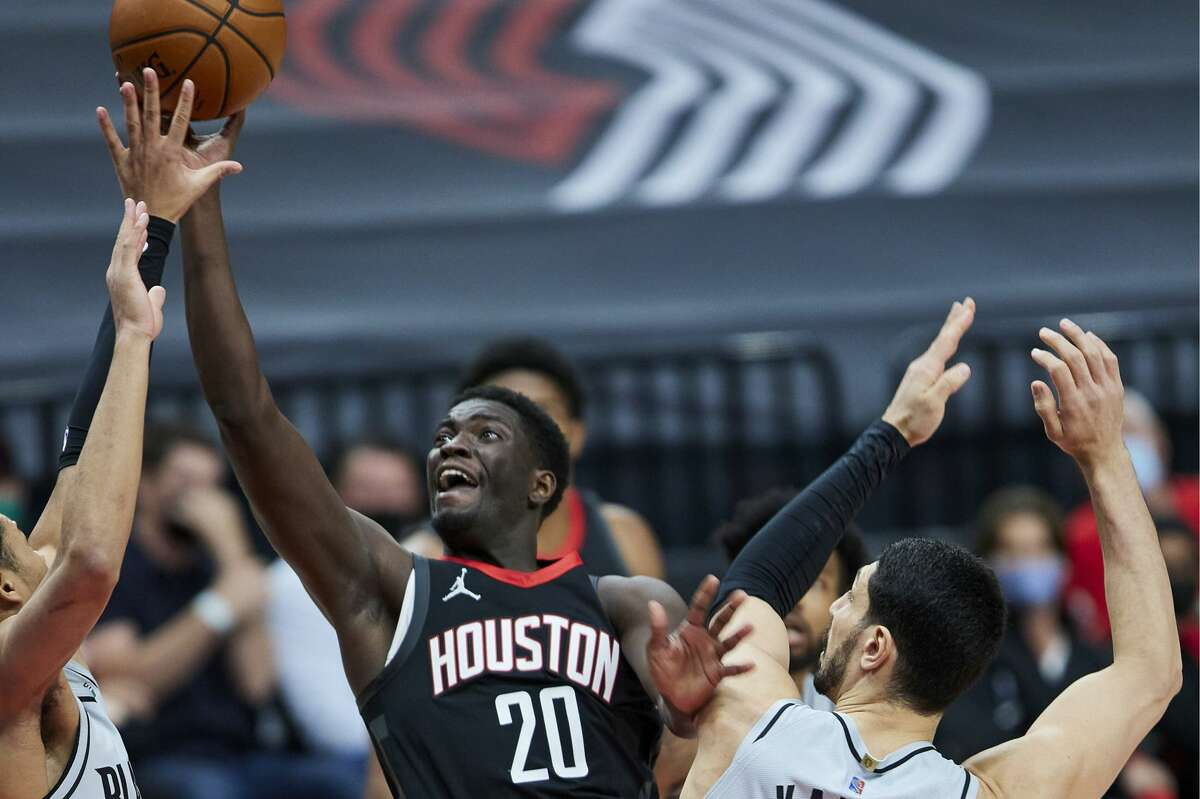 Signed with a hardship exemption, Khyri Thomas impressed enough to land a three-year contract from the Rockets.