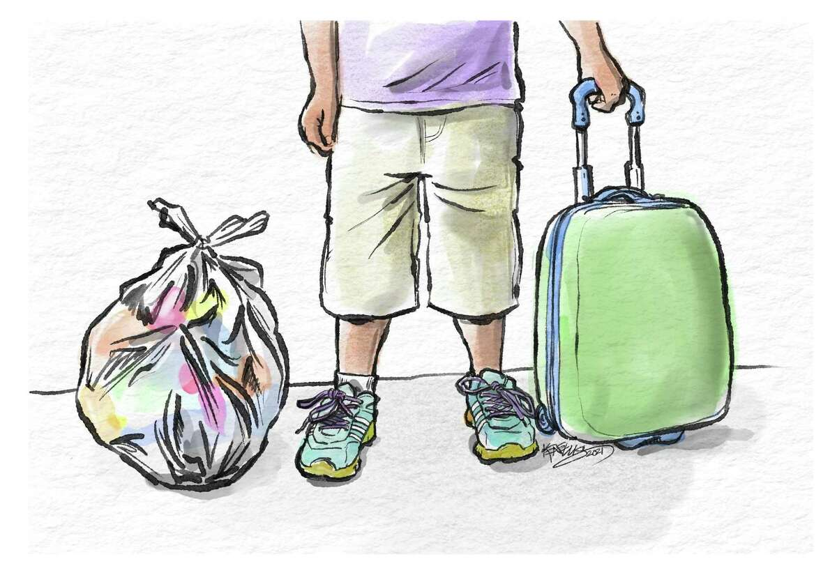 Essay: Easing the journey - How a simple piece of equipment can help foster kids Kids need suitcases