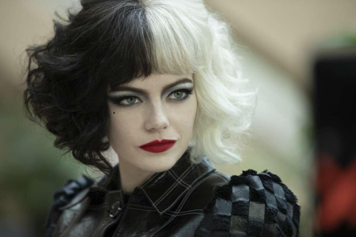 Emma Stone as Cruella de Vil in