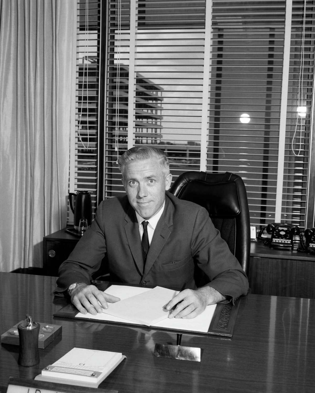 John Hodge was NASA's second flight director.