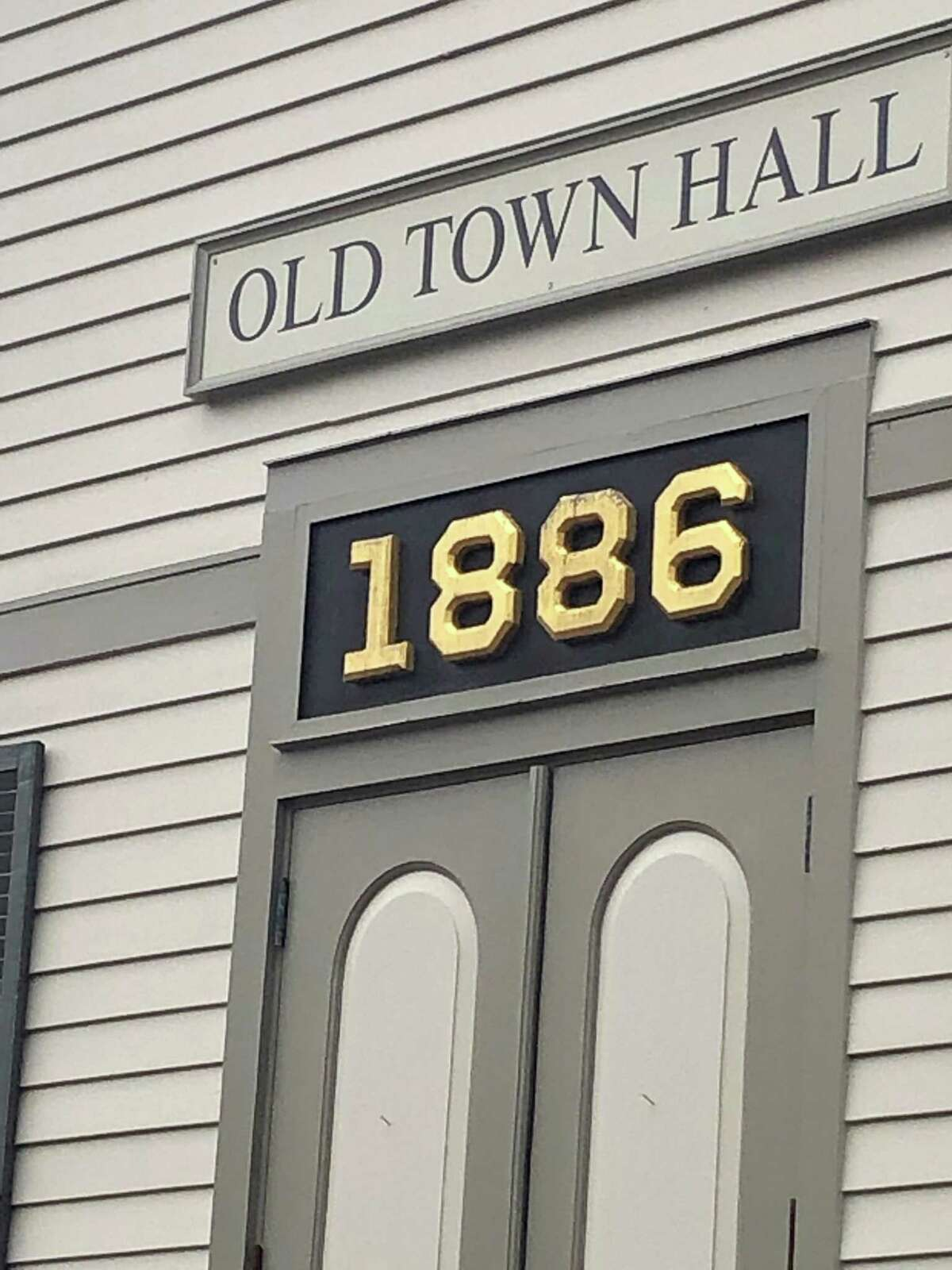 Sherman's Old Town Hall on Route 37, out of which the town's senior center currently operates.