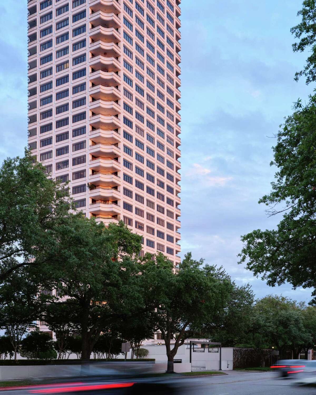 The Huntingdon high rise is a luxury example of density living.