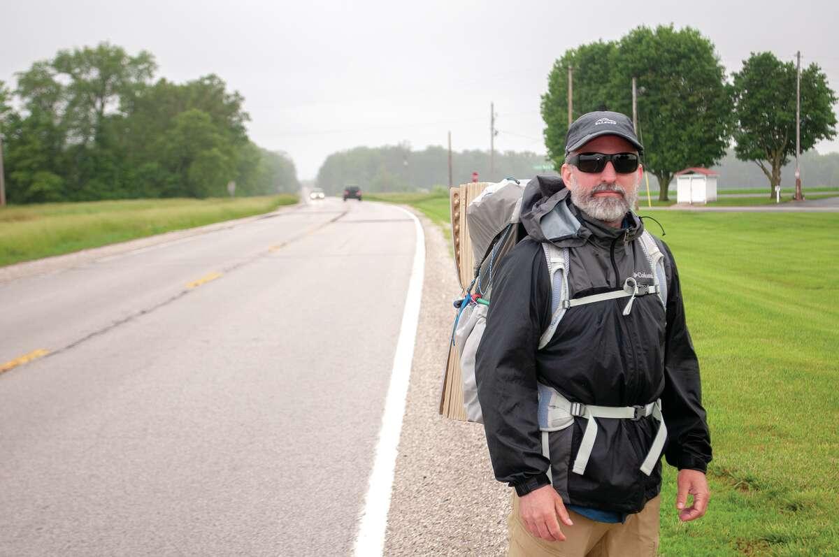 The Rev. Jeffrey Geary has been walking the Potawatomi
