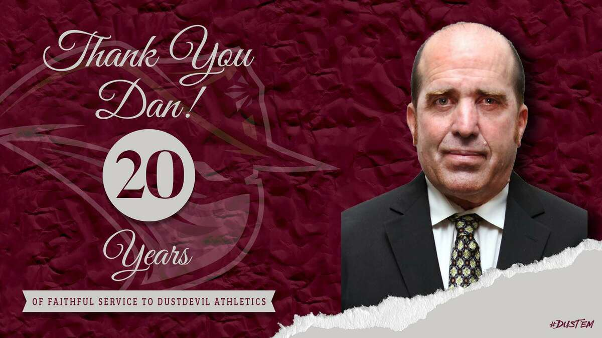TAMIU Associate Director of Athletics Dan Lathey is retiring after 20 years working within the athletics department.