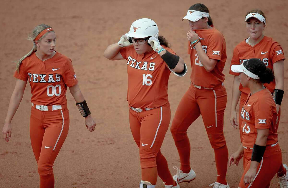 The Texas softball team lost to Oklahoma State in Game 1 of the Stillwater Super Regional.