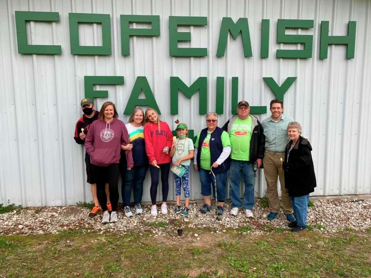 The Copemish Family Market was known for its friendly staff and meat department, which featured special cuts and blends made by the Schneider family. (Courtesy Photo)