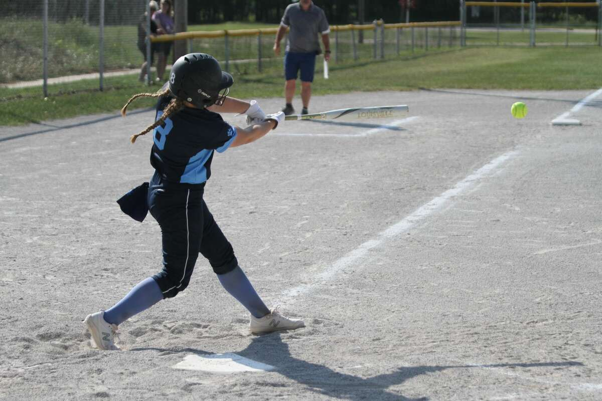 The Brethren softball team lost a pair of one-run games on Thursday in Suttons Bay. (News Advocate file photo)