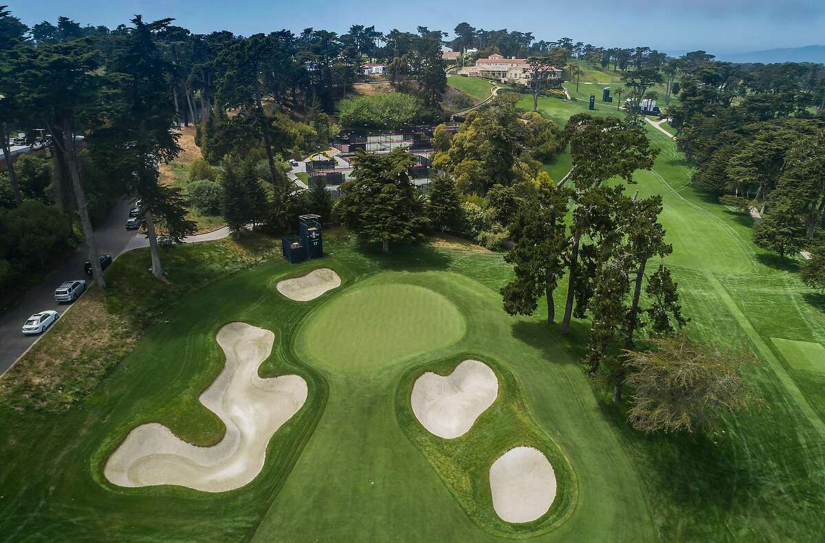 The 17th hole, which has been converted into a long par-4 for past Opens, will remain a par-5 this week at the Olympic Club's Lake Course.
