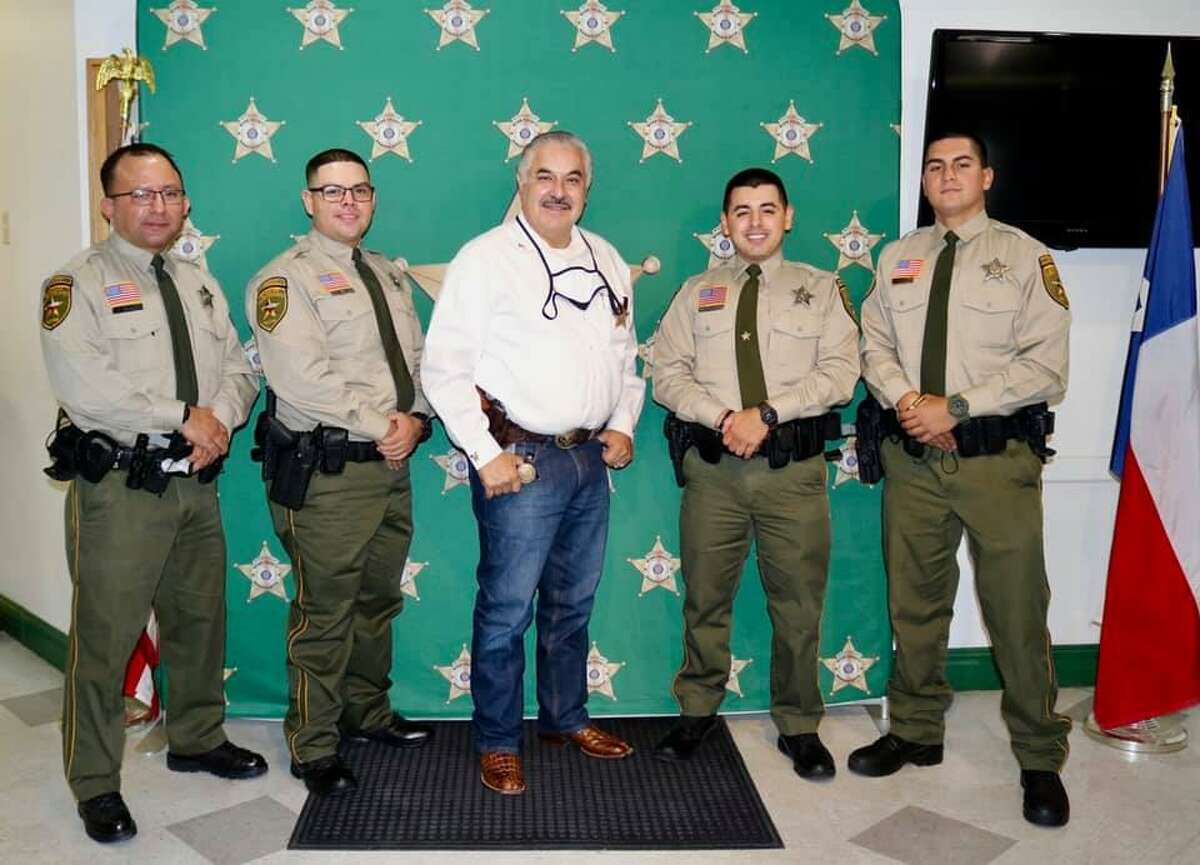 Webb County Sheriff Martin Cuellar welcomed four deputies to their law enforcement family.