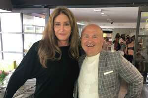 Former Olympic Gold medal-winning decathlete and TV personality Caitlyn Jenner and Tony Capasso at Tony's at the JHouse Sunday, May 23.