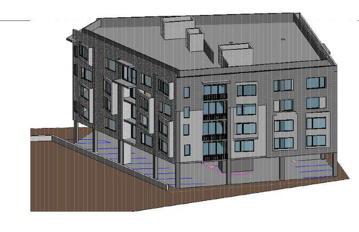 A 20-unit affordable housing complex is proposed for a site on East Putnam Avenue near Sheep Hill Road.