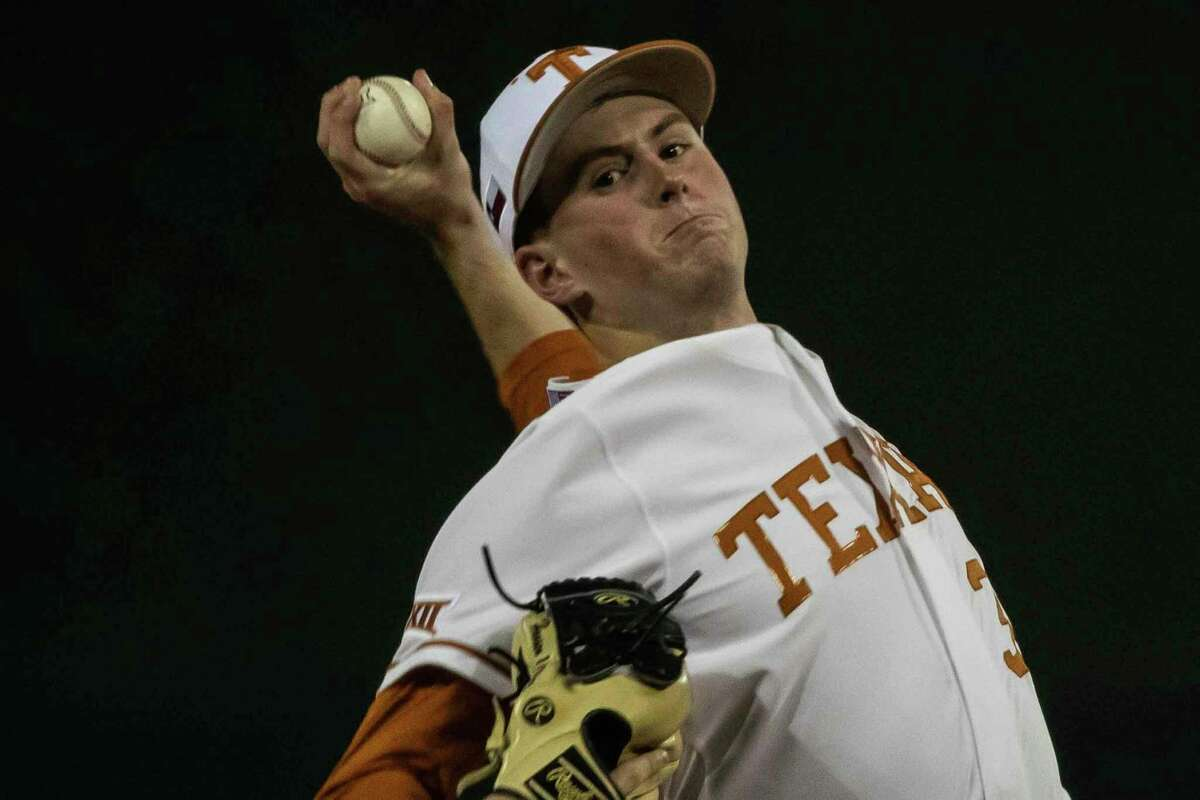 Pete Hansen's solid outing in a Big 12 tournament rematch against West Virginia helped Texas stay alive and advance to face Oklahoma State.