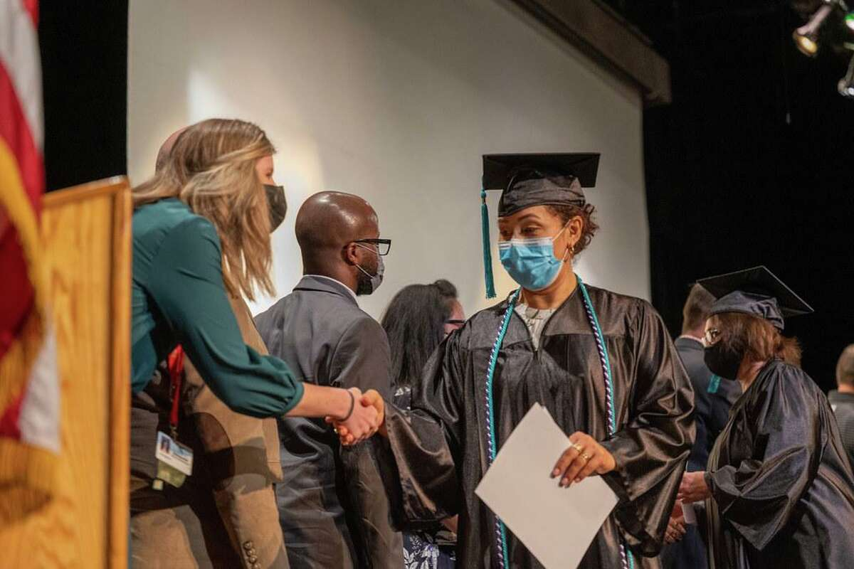 A total of 177 family members were celebrated during a commencement ceremony in May as graduates of Klein ISD's Parent University - a program that empowers families to be engaged in their students' education.