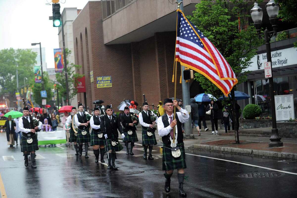 Photos from the annual Memorial Day parade in downtown Stamford, Conn. on Sunday, May 27, 2018.