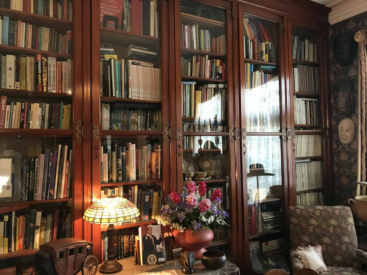 A tour of the Dempsey Manor, a 19th century Victorian house museum, is one good way to spend a rainy day in Manistee. (Erin Glynn/News Advocate)