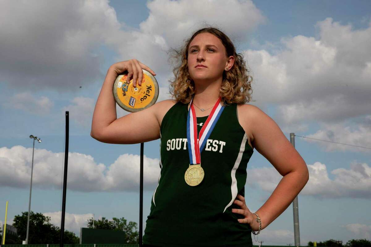 Girls Field Athlete of the Year is Madeleine Fey of Southwest.