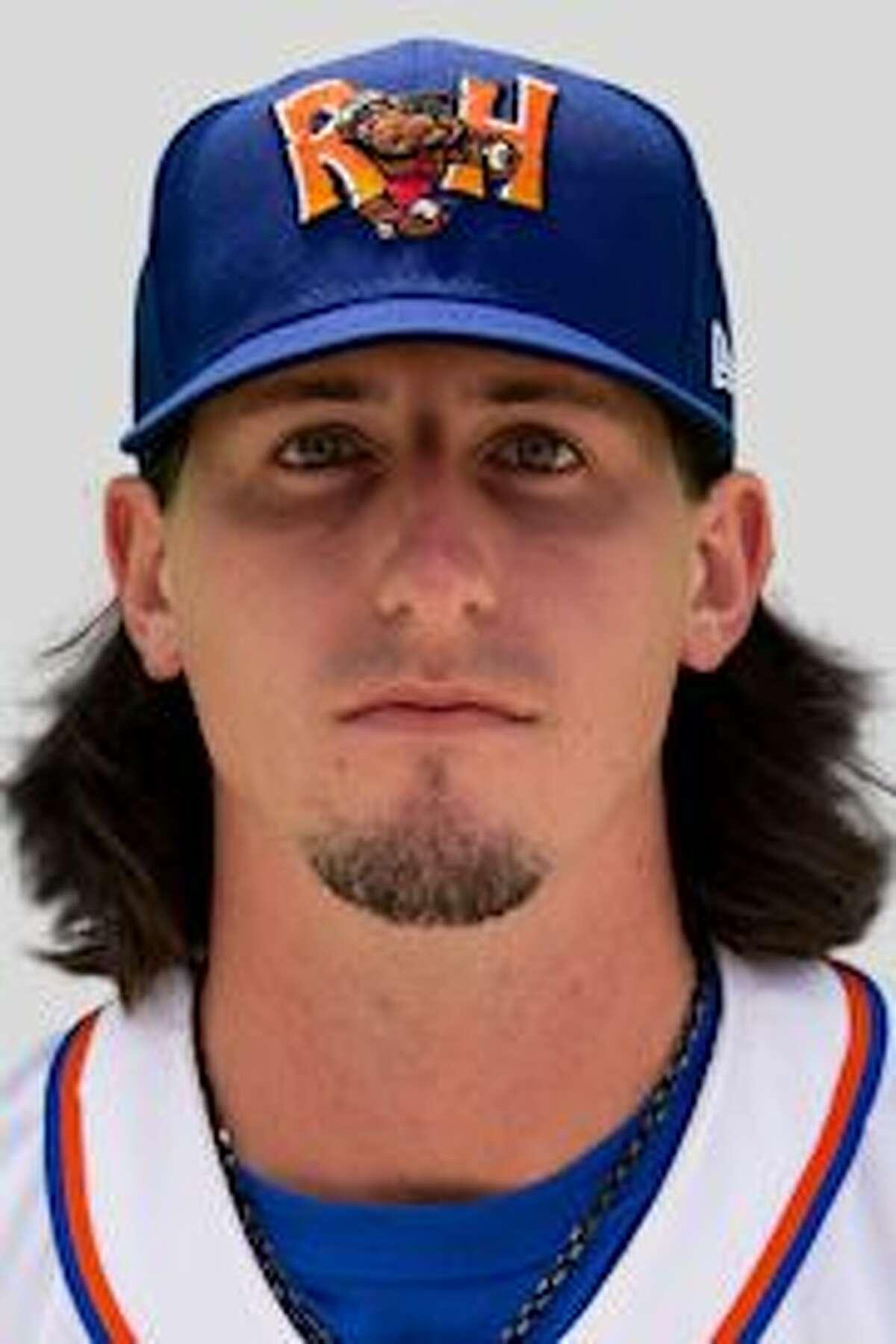 Midland RockHounds pitcher Chase Cohen