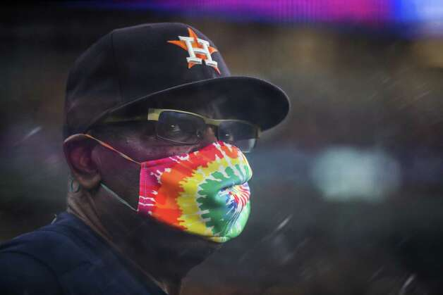Houston Astros manager Dusty Baker, Jr., looks on from the dugout during the fifth inning of a major league baseball game Sunday, May 30, 2021, at Minute Maid Park in Houston. Photo: Brett Coomer, Staff Photographer / © 2021 Houston Chronicle