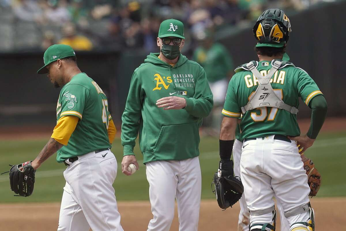 Manager Bob Melvin will lead the A's against the Mariners at 1 p.m. Monday. (NBCSCA)