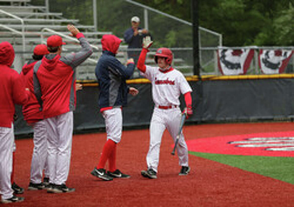 Stony Brook baseball junior Brad Hipsley and his teammates saw their chance at an America East championship ended by a rainout. (Stony Brook athletic communications)