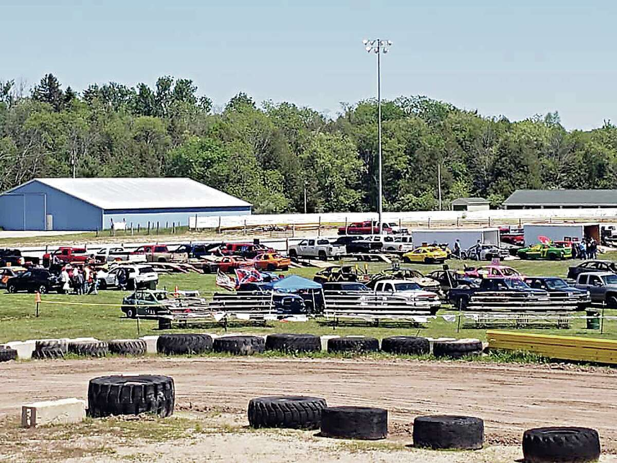 Between 50 and 100 cars had been expected to be featured at the Blessing of the Drivers day of events on Sunday at the Manistee County Fairgrounds.