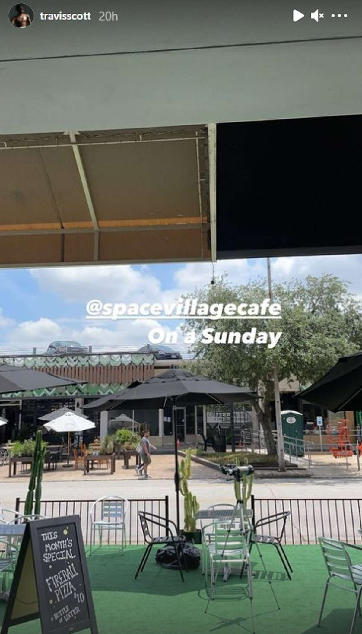 Kylie Jenner and Travis Scott have been documenting trips to Houston spots via Instagram Stories.