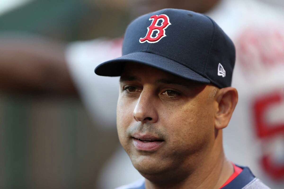Monday's game at Minute Maid Park was Alex Cora's first since the Astros' 2017-18 sign-stealing scheme was revealed. The ex-bench coach took umbrage with how former general manager Jeff Luhnow depicted Cora's role in the operation.