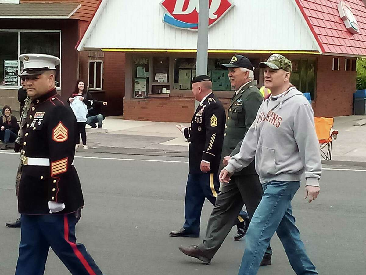 Winsted held its Memorial Day parade Monday with a march down Main Street to East End Park, where ceremonies were held. The event was sponsored by the Soldiers Monument Commission.