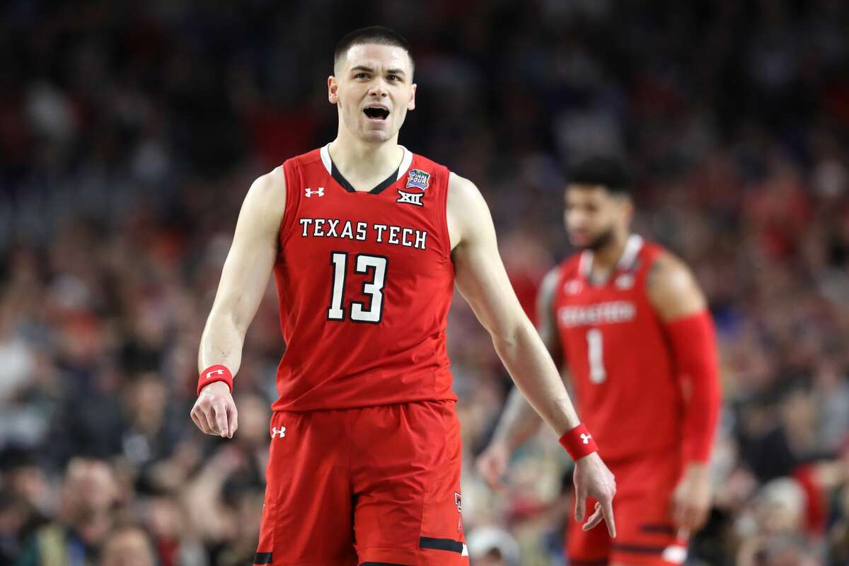MINNEAPOLIS, MINNESOTA - APRIL 08: Matt Mooney #13 of the Texas Tech Red Raiders reacts against the Virginia Cavaliers in the first half during the 2019 NCAA men's Final Four National Championship game at U.S. Bank Stadium on April 08, 2019 in Minneapolis, Minnesota. (Photo by Streeter Lecka/Getty Images)