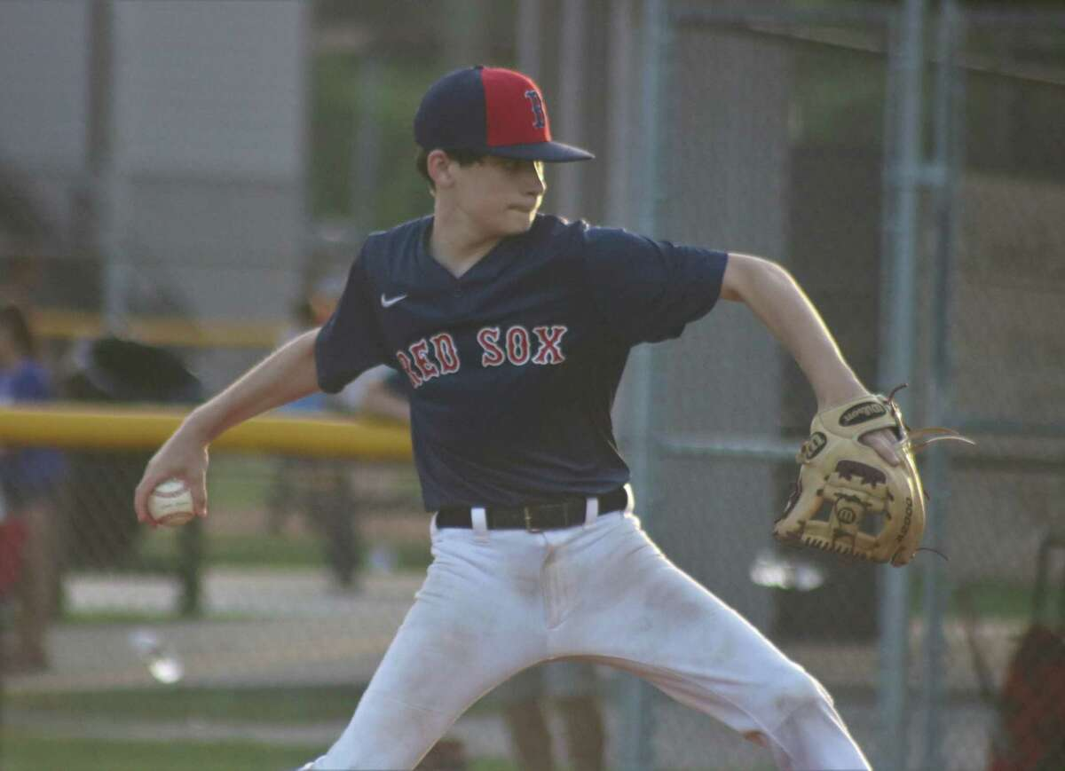 Red Sox hurler Luke McInnis was up to the task Monday night, but came out on the short end of a 1-0 score.