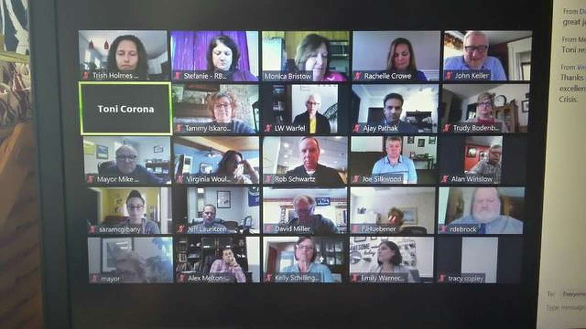 Virtual meetings like this one held on Zoom will swiftly become the exception rather than the norm we have dealt with for the past 15 months.