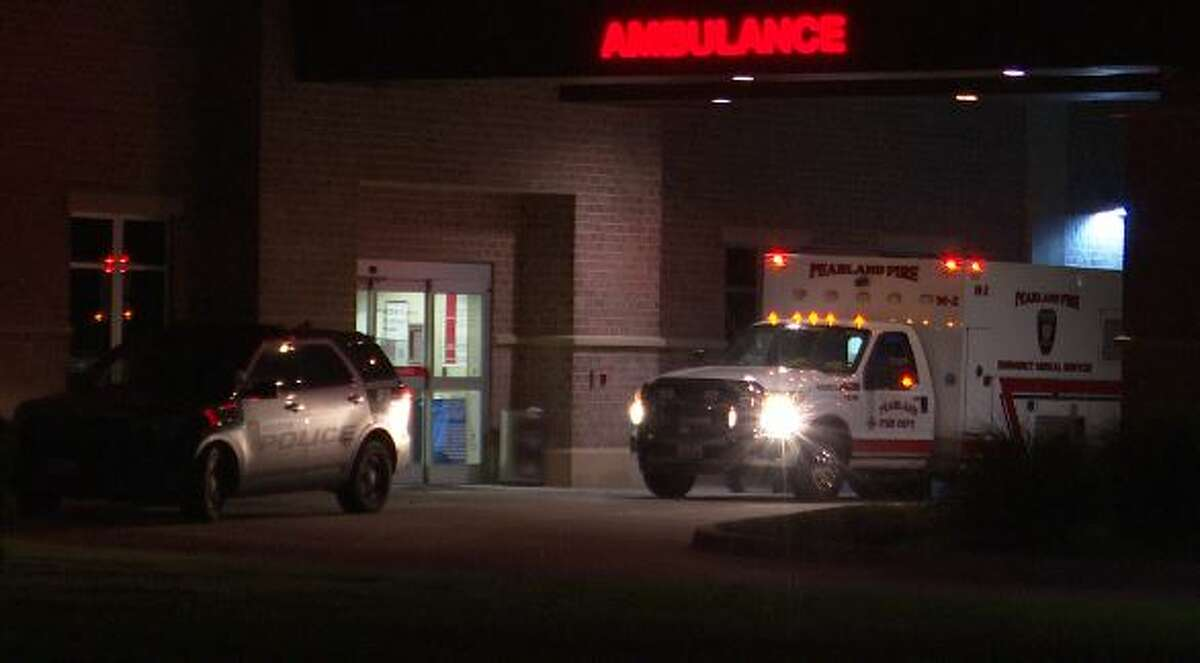Police are investigating the death of a 2-year-old girl who was taken to a Pearland hospital by her parents.