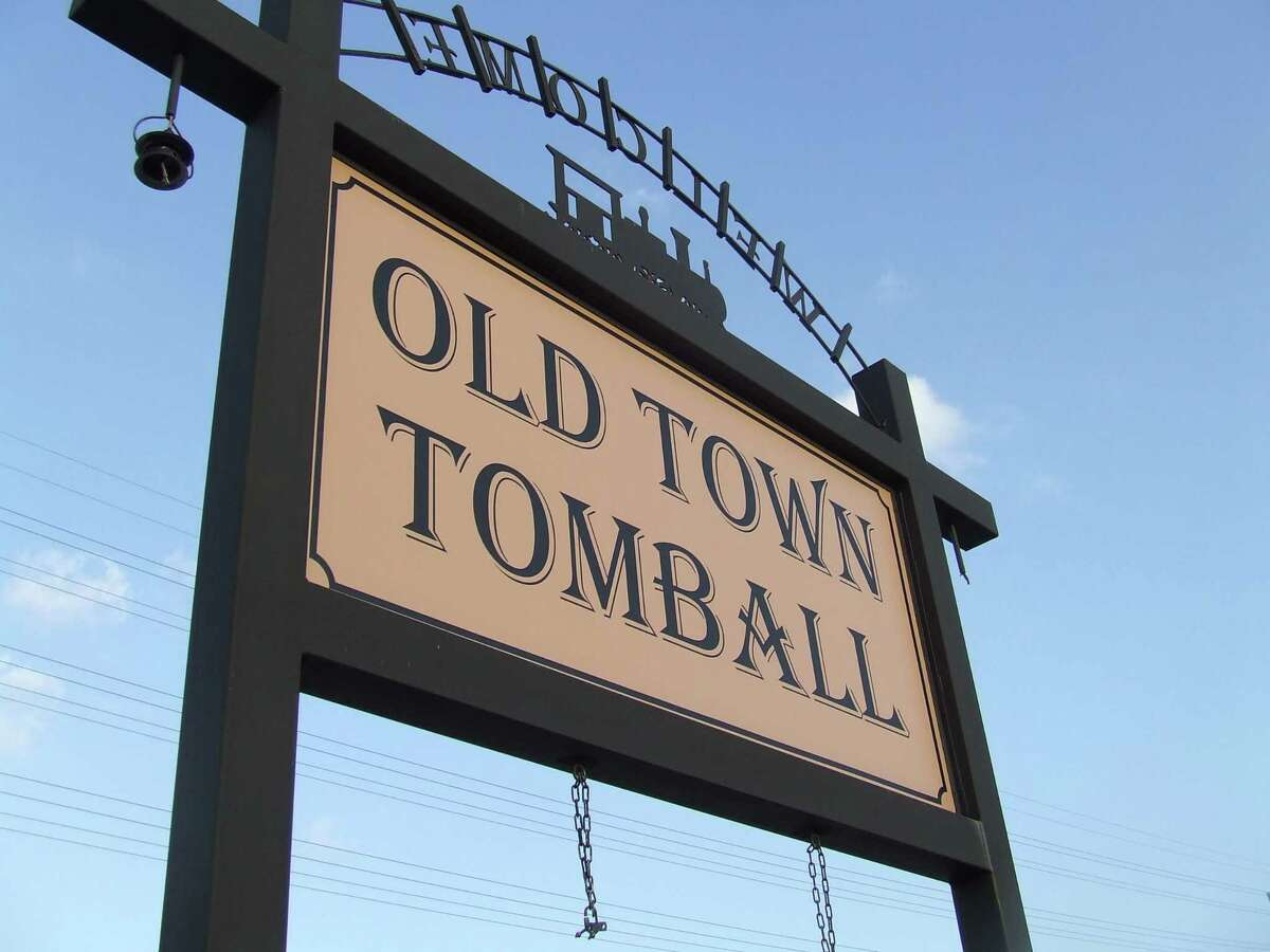 The Old Town Tomball sign is one of many elements in downtown Tomball that the Downtown Advisory Committee that members believe could change.