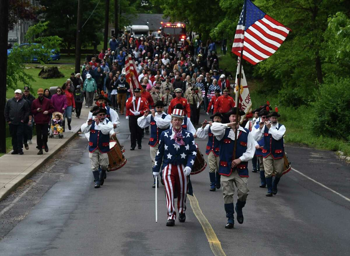Branford Memorial Day Parade was back on Monday, May 31 with some 300 parade-goers.